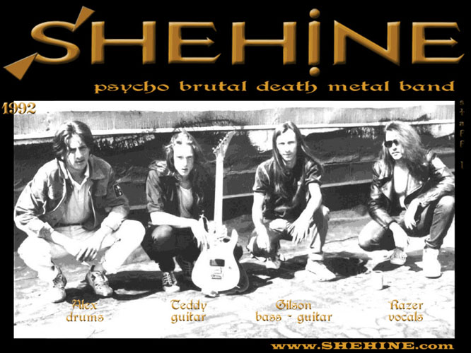 SHEHINE 1st staff Metal band Poster